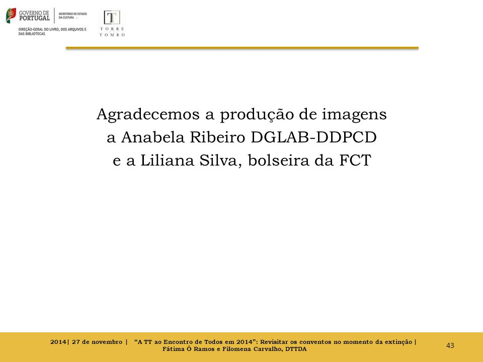 Fátima Ó Ramos e Filomena Carvalho, DTTDA