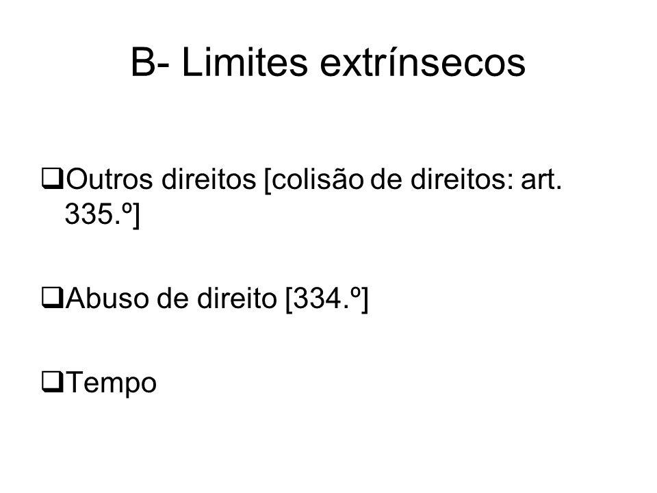 B- Limites extrínsecos