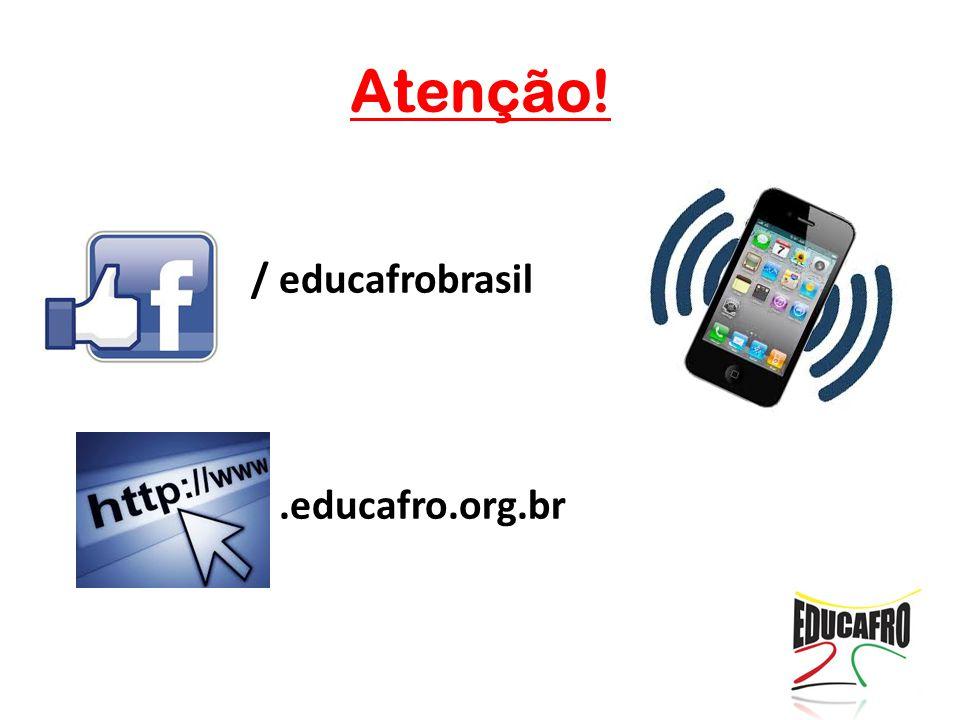 Atenção! / educafrobrasil / .educafro.org.br