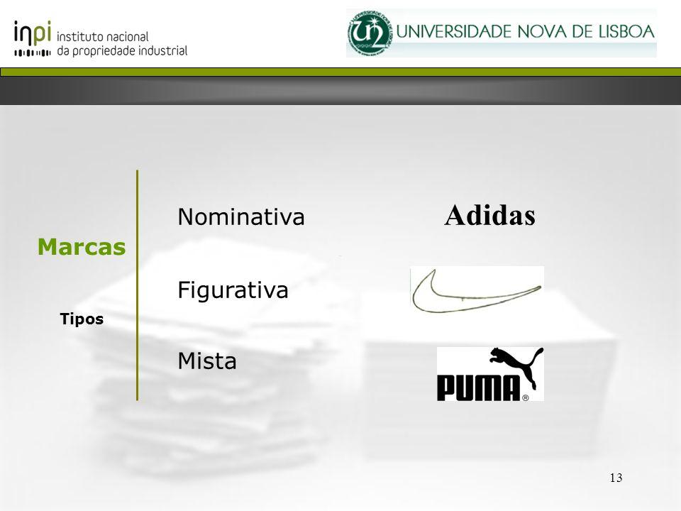 Nominativa Adidas Figurativa Mista Marcas Tipos 13 13