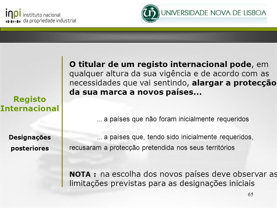 Registo Internacional