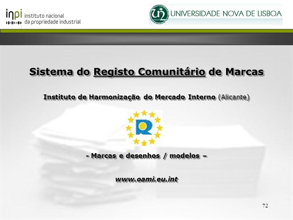 Sistema do Registo Comunitário de Marcas