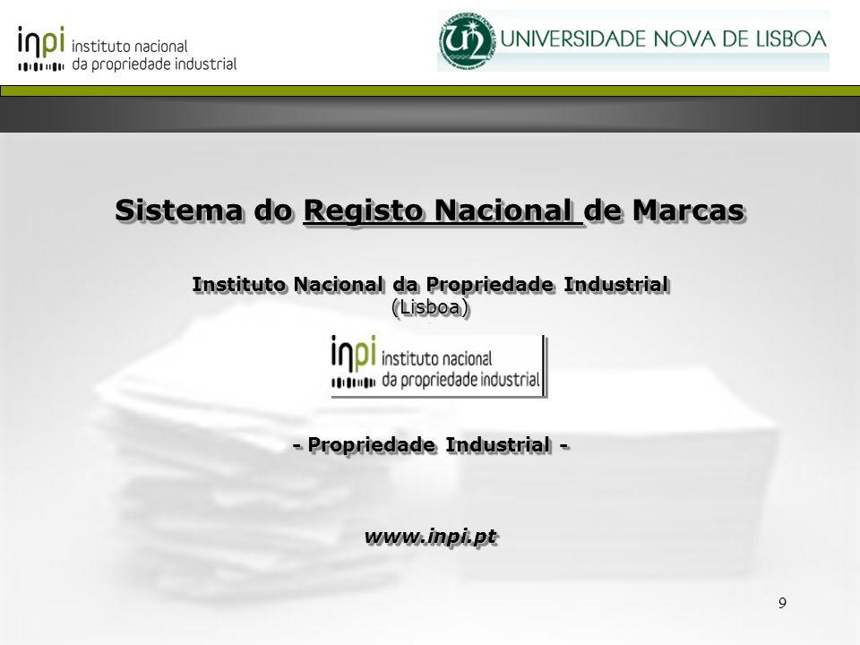 Sistema do Registo Nacional de Marcas