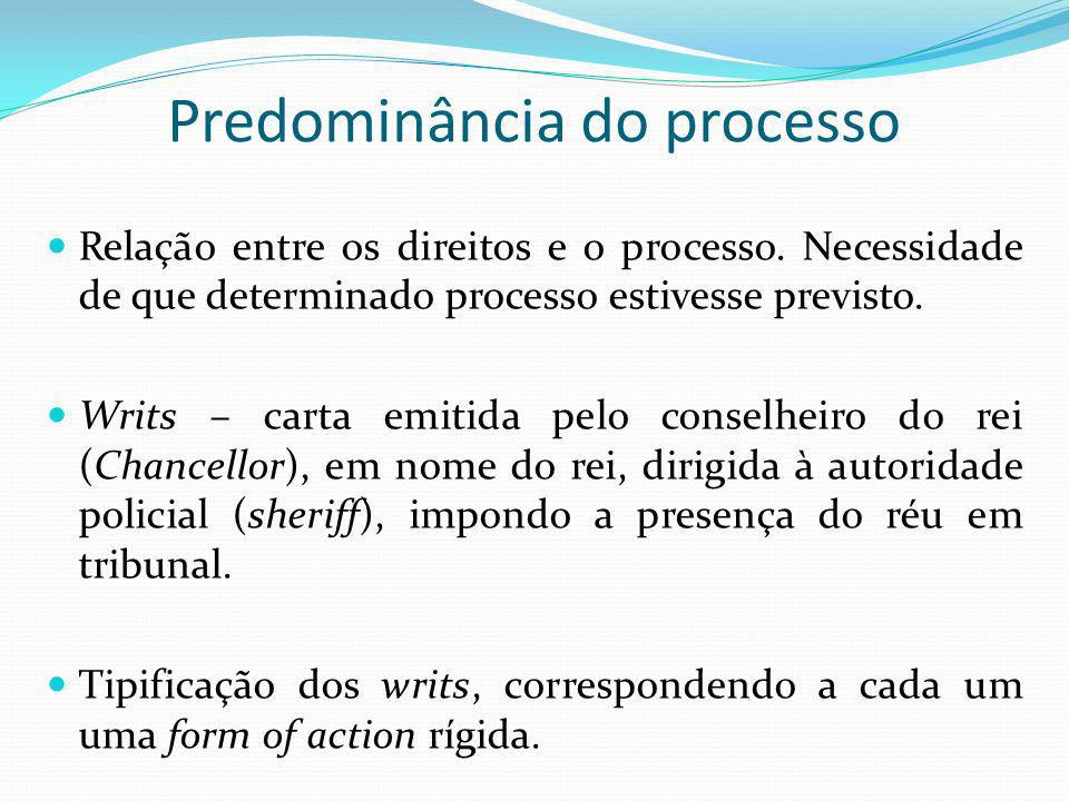 Predominância do processo