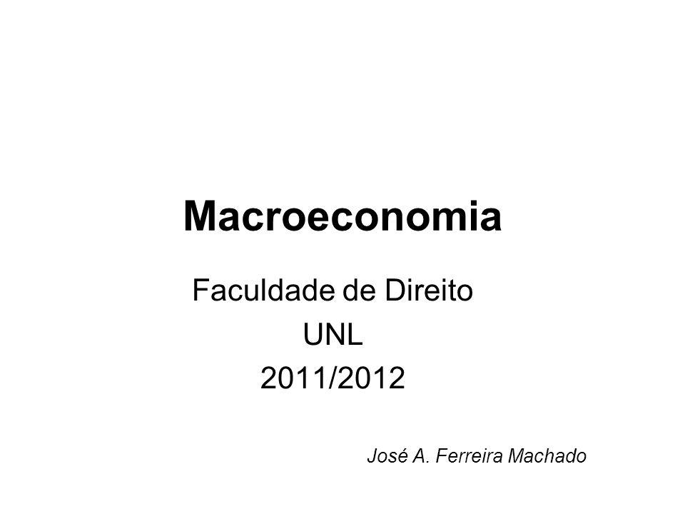 Faculdade de Direito UNL 2011/2012 José A. Ferreira Machado