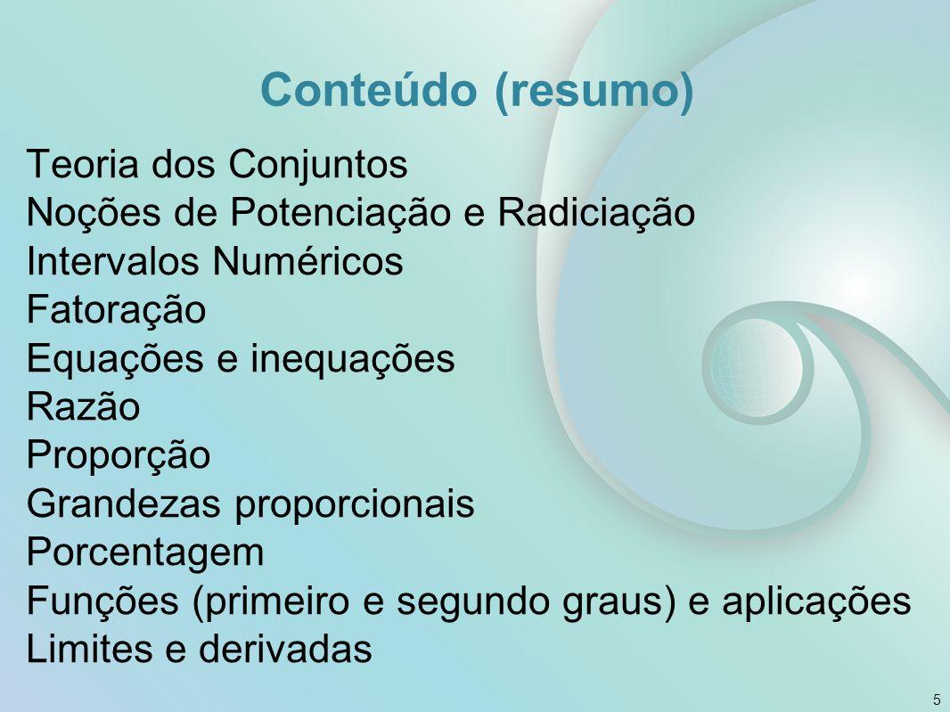 Conteúdo (resumo)