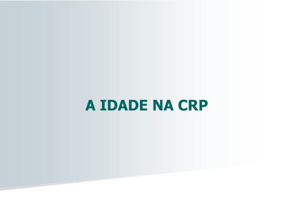 A IDADE NA CRP