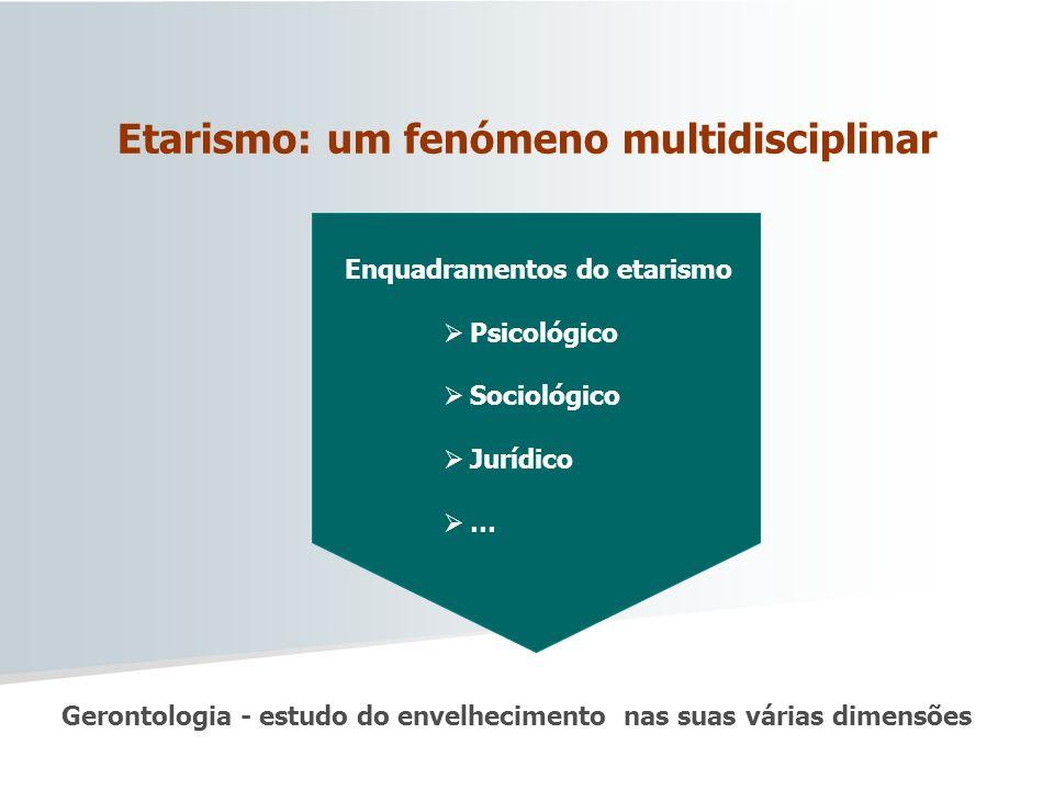 Etarismo: um fenómeno multidisciplinar