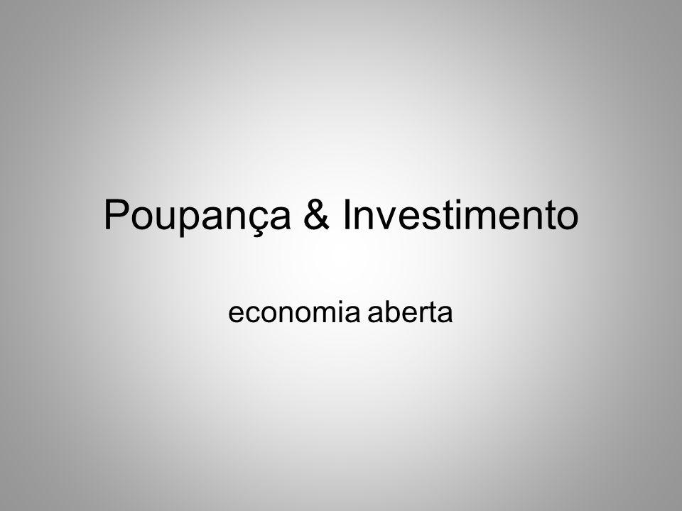 Poupança & Investimento