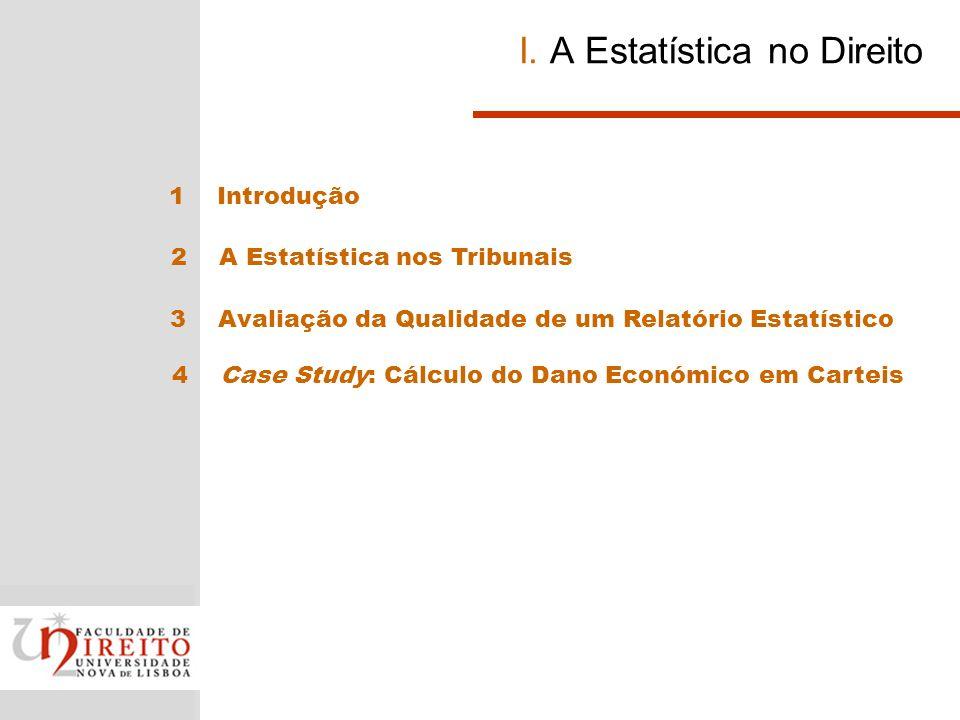 I. A Estatística no Direito