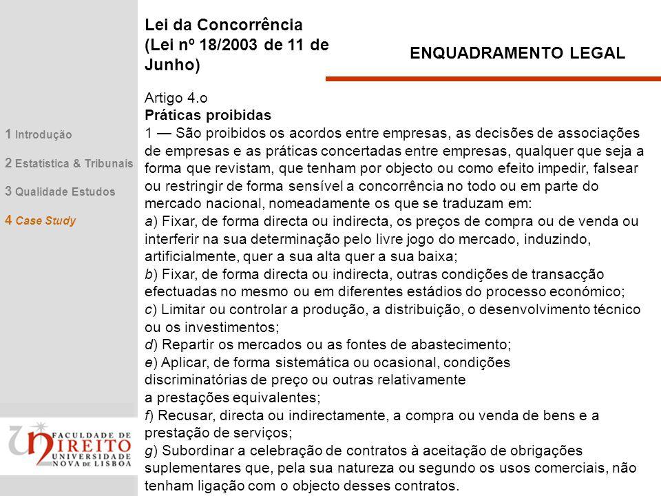 Lei da Concorrência (Lei nº 18/2003 de 11 de Junho)