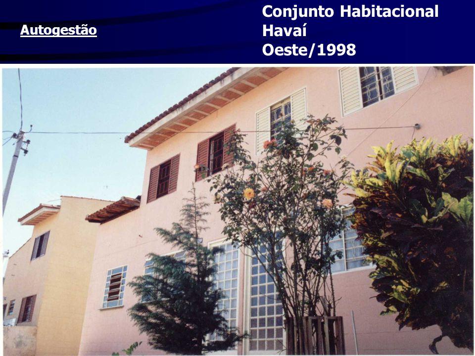 Conjunto Habitacional Havaí Oeste/1998