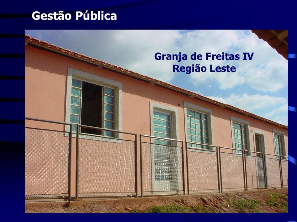 Gestão Pública Granja de Freitas IV Região Leste