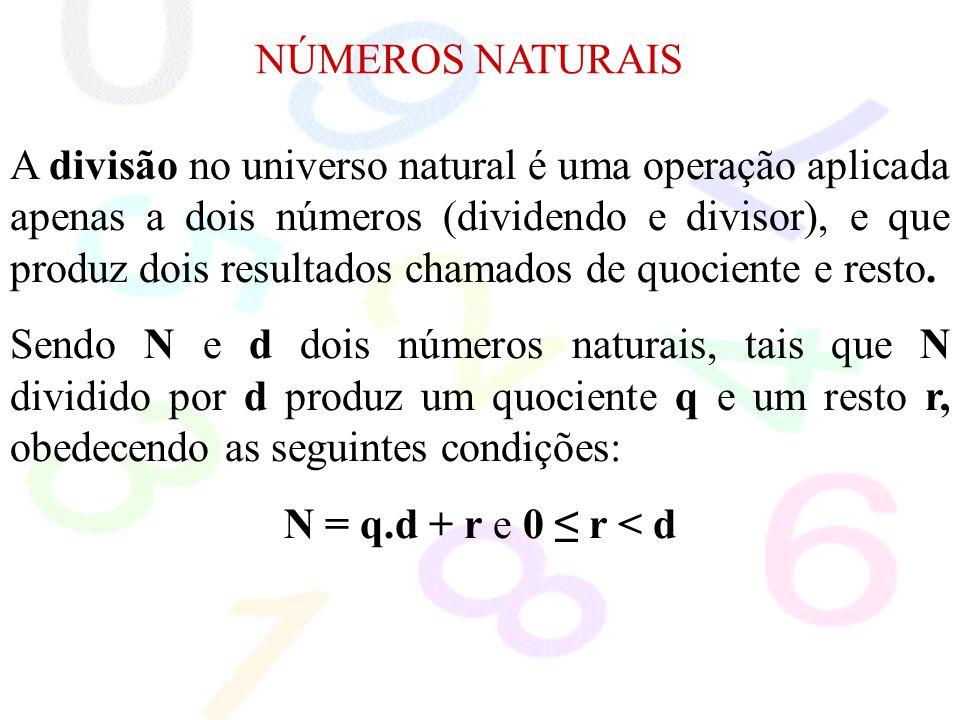 NÚMEROS NATURAIS