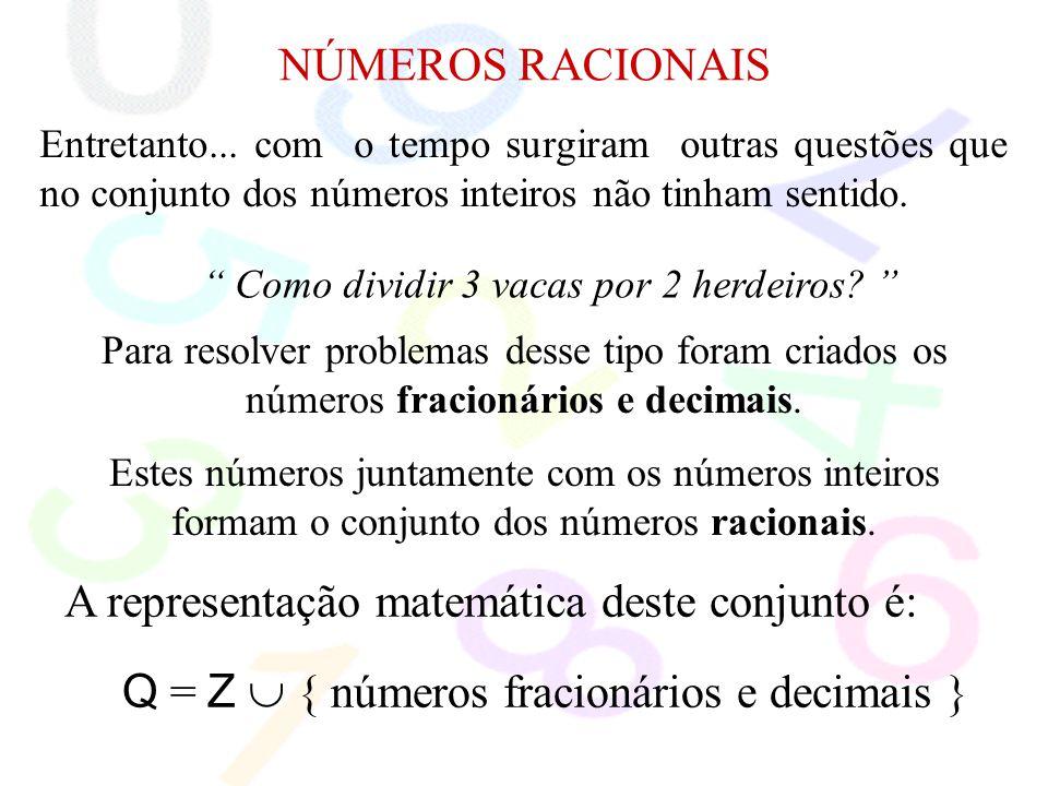 A representação matemática deste conjunto é: