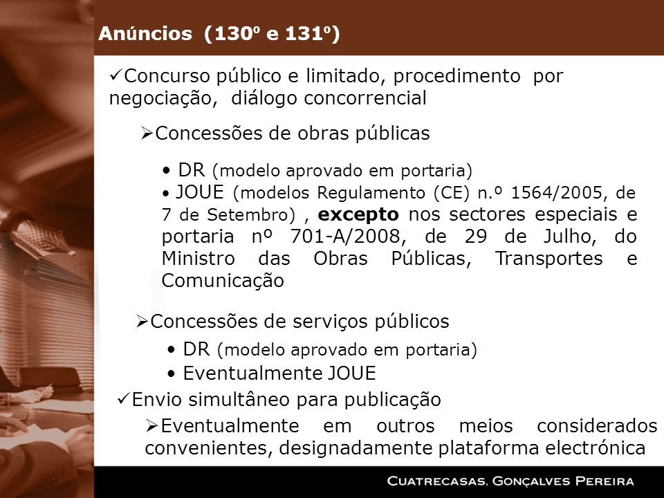 Concessões de obras públicas