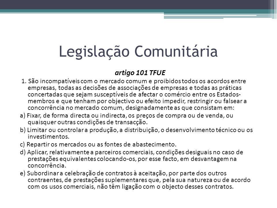 Legislação Comunitária