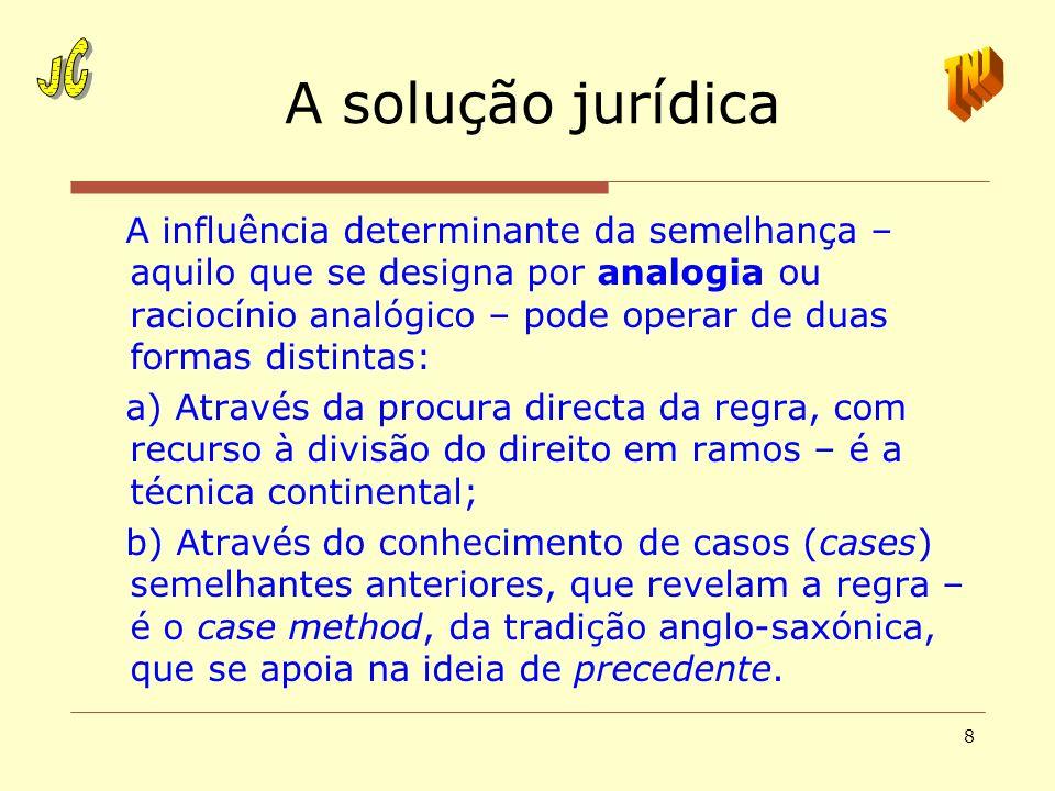 A solução jurídica JC TNJ