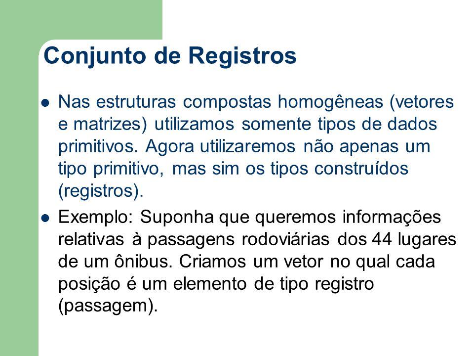 Conjunto de Registros