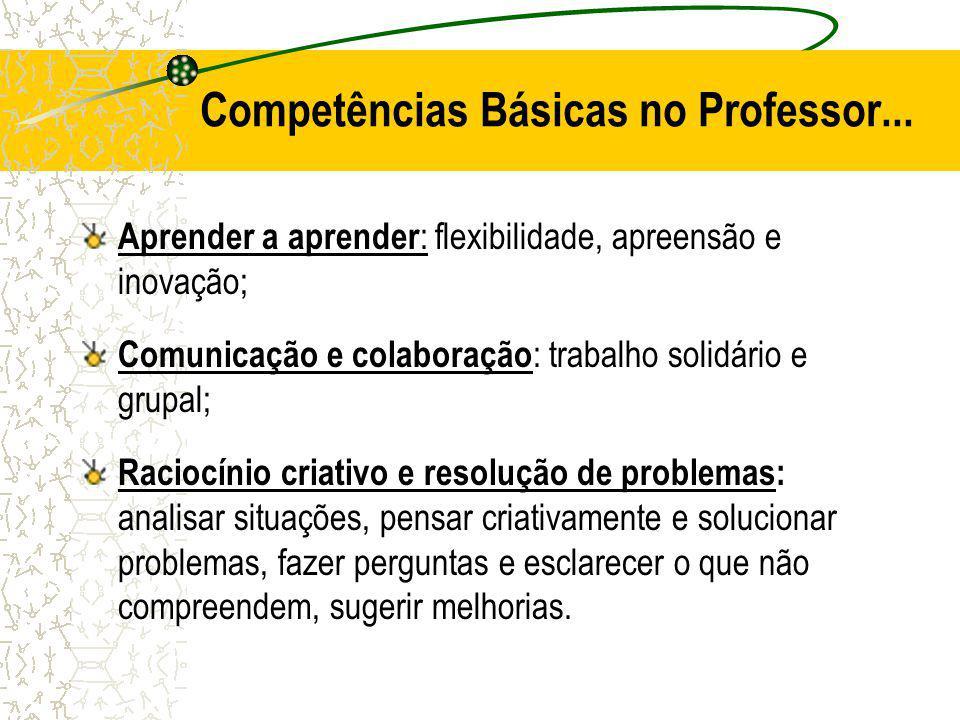Competências Básicas no Professor...