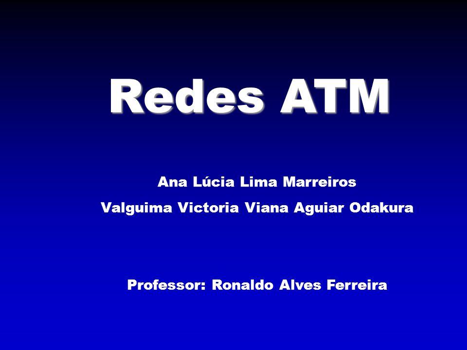 Redes ATM Ana Lúcia Lima Marreiros