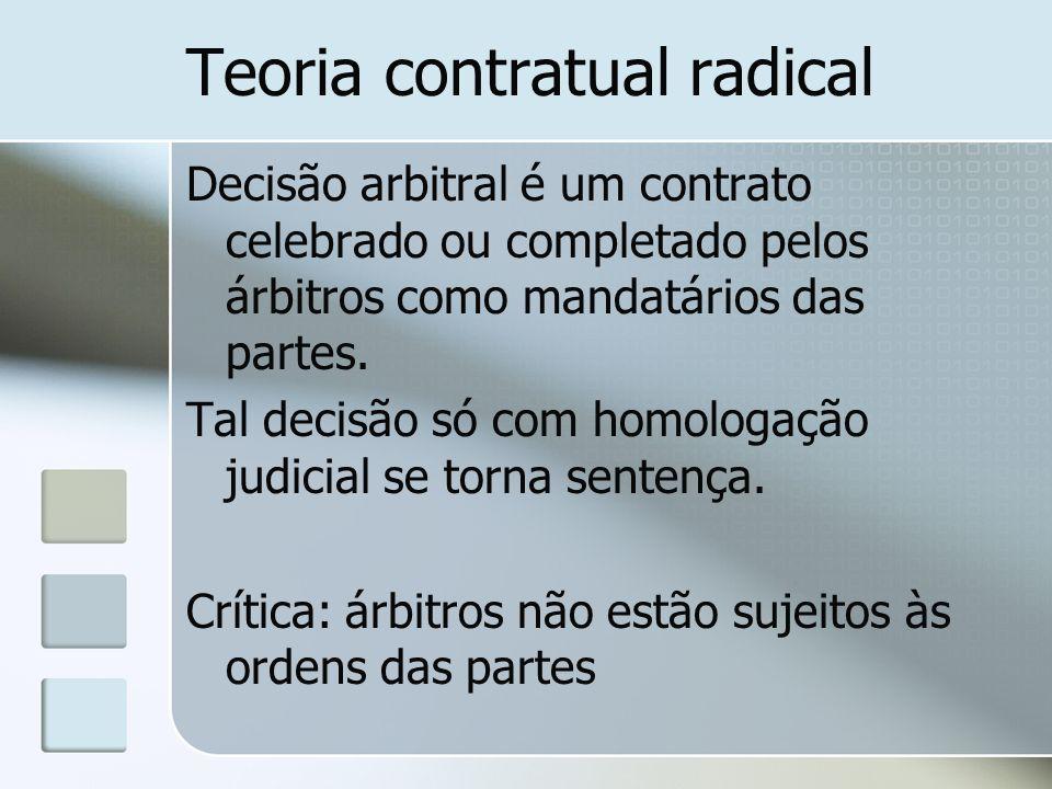 Teoria contratual radical