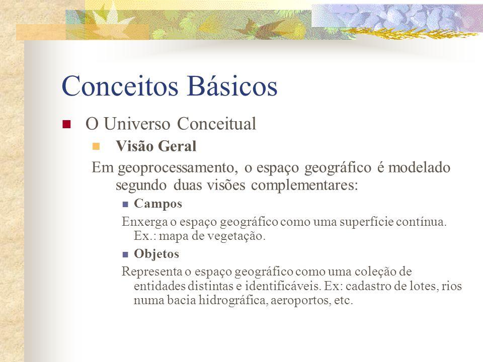 Conceitos Básicos O Universo Conceitual Visão Geral