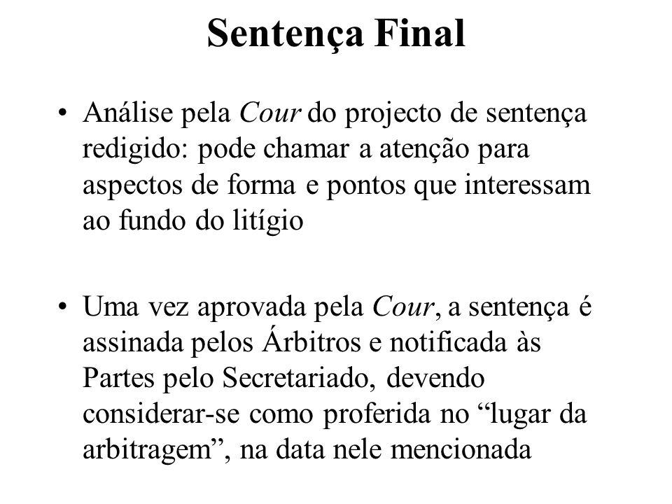 Sentença Final