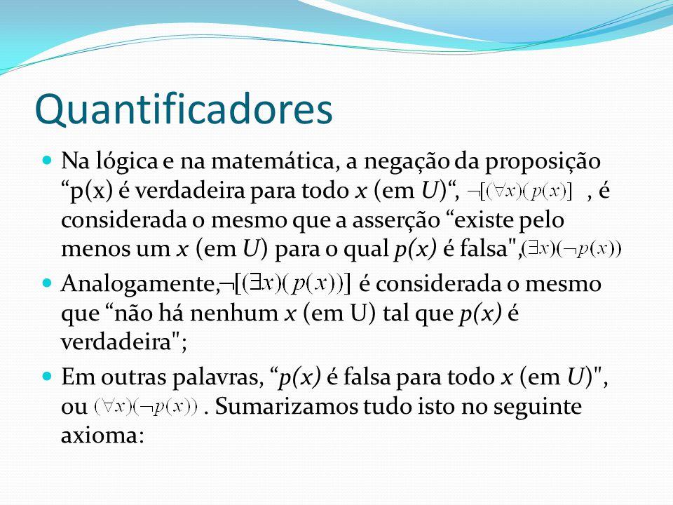 Quantificadores