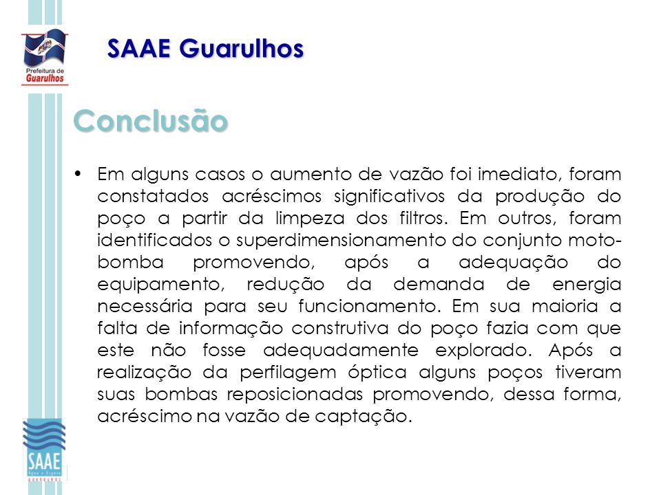 Conclusão SAAE Guarulhos