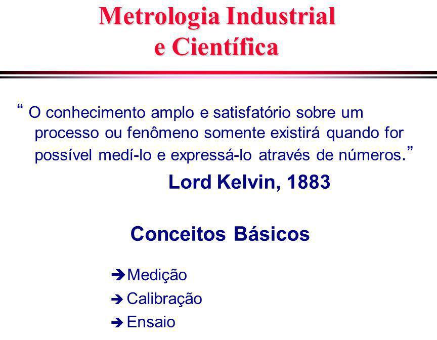 Metrologia Industrial e Científica