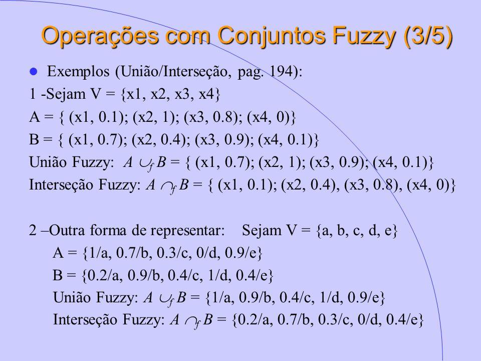 Operações com Conjuntos Fuzzy (3/5)