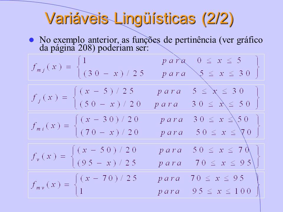 Variáveis Lingüísticas (2/2)