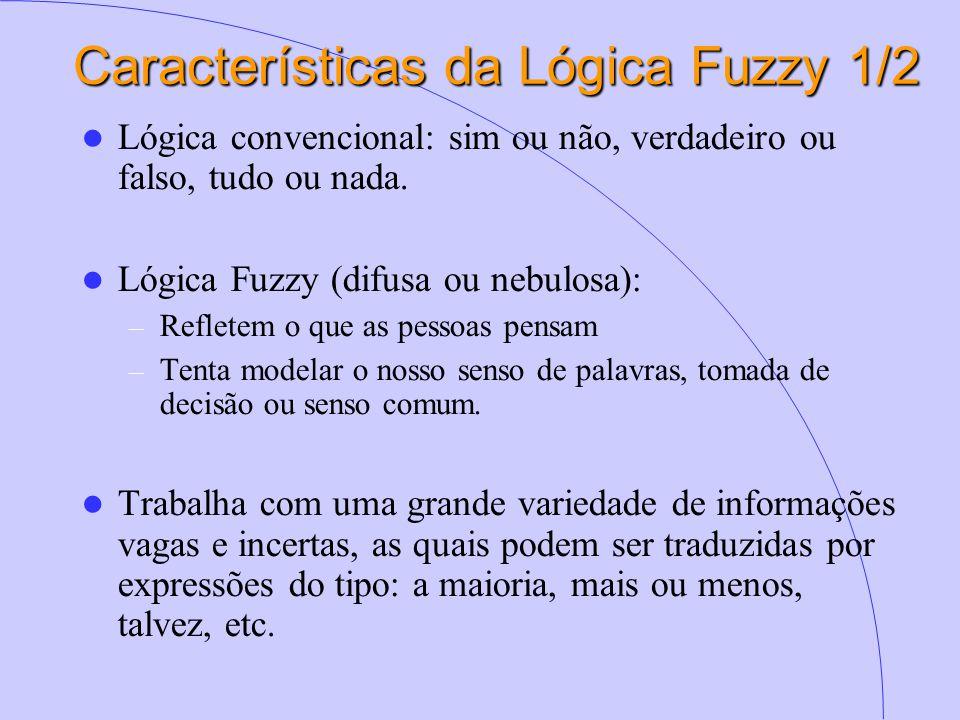 Características da Lógica Fuzzy 1/2