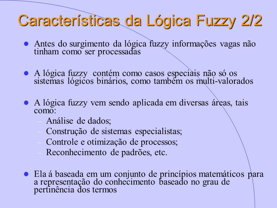 Características da Lógica Fuzzy 2/2