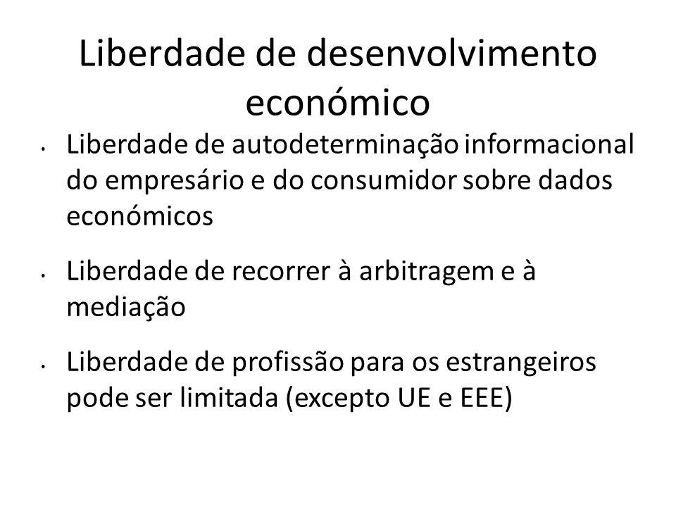 Liberdade de desenvolvimento económico