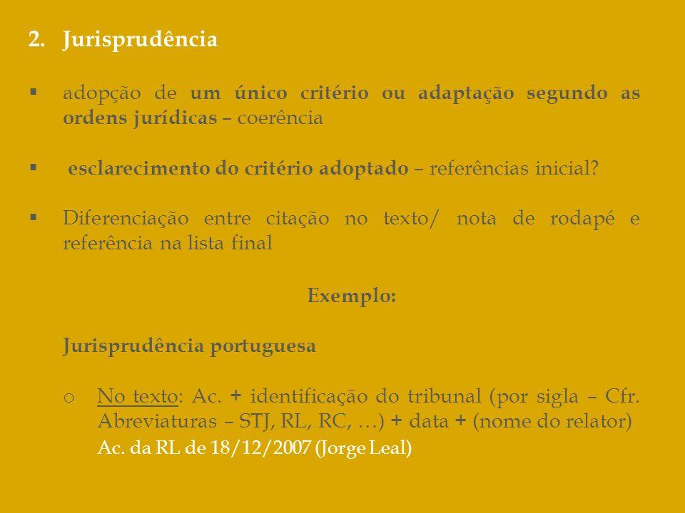 Ac. da RL de 18/12/2007 (Jorge Leal)