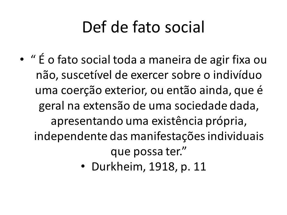 Def de fato social