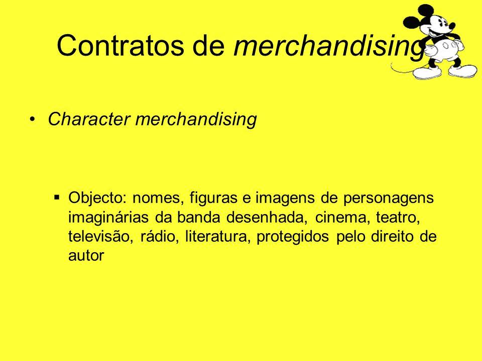 Contratos de merchandising