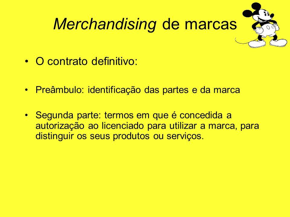 Merchandising de marcas
