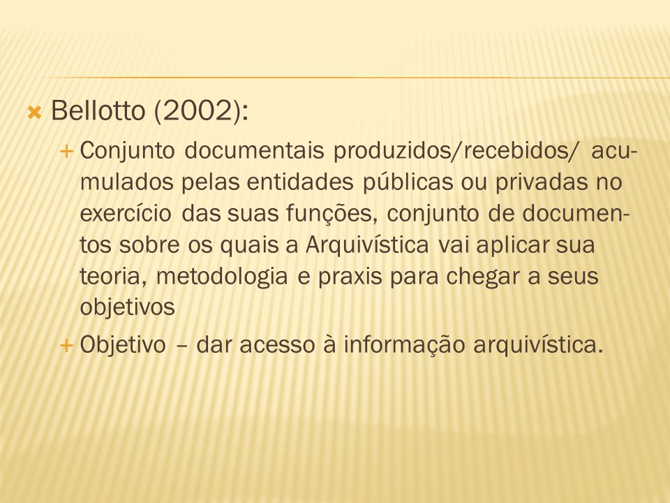 Bellotto (2002):