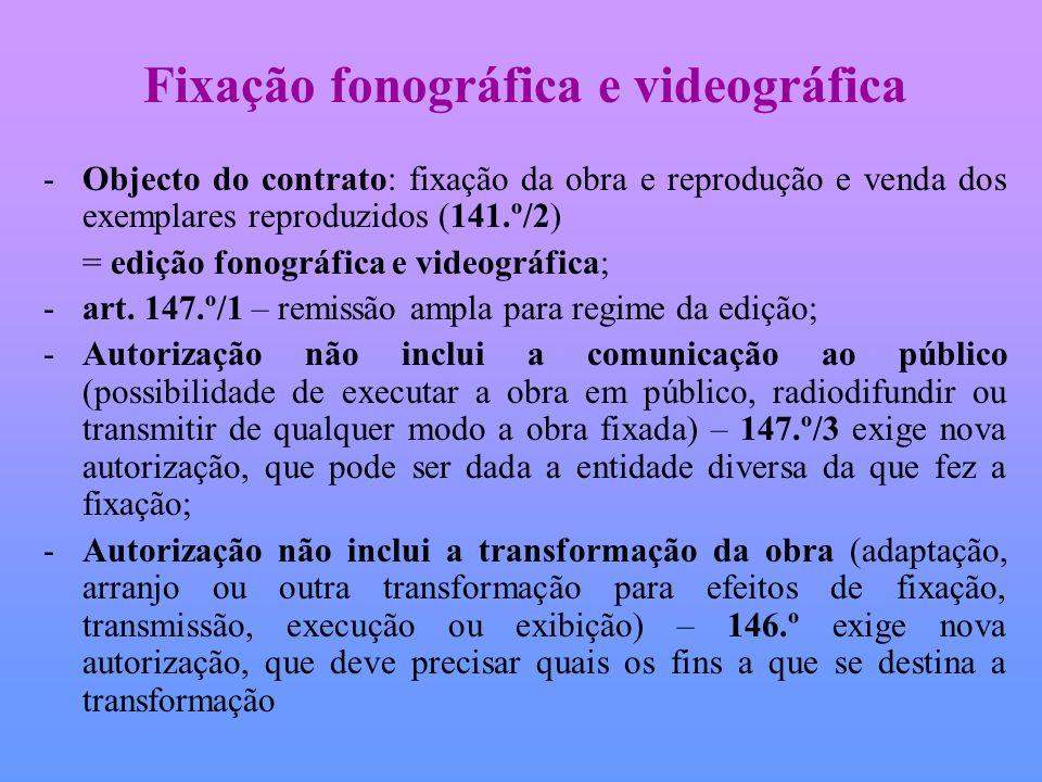 Fixação fonográfica e videográfica