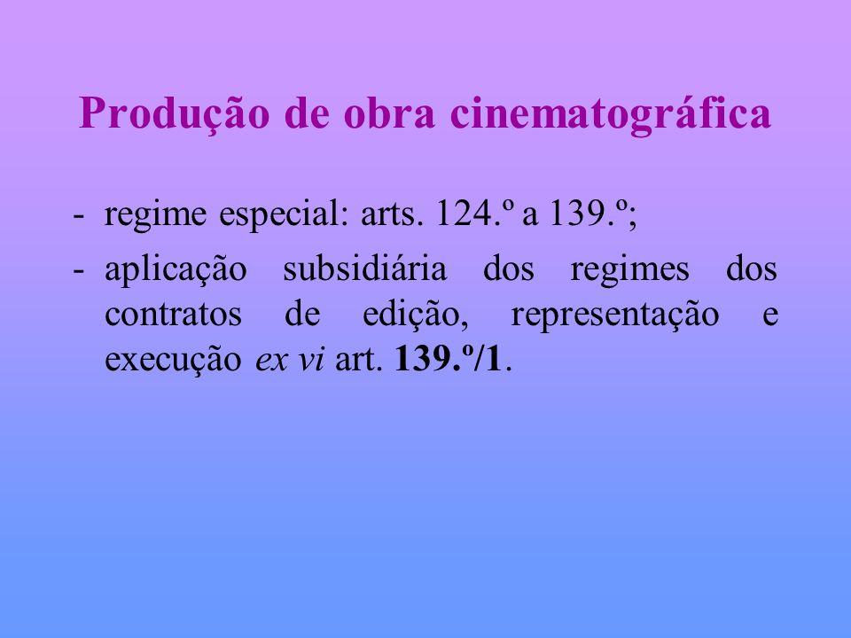 Produção de obra cinematográfica