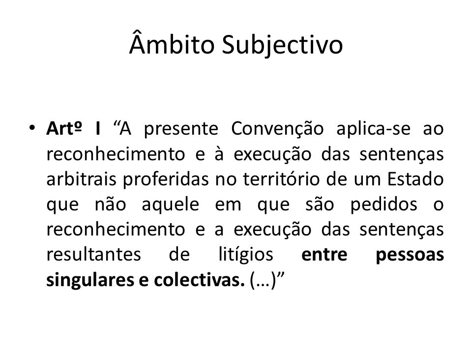 Âmbito Subjectivo