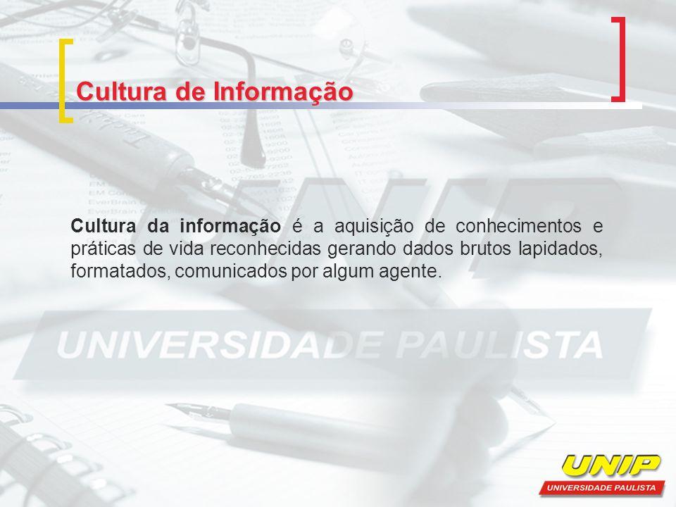 Cultura de Informação