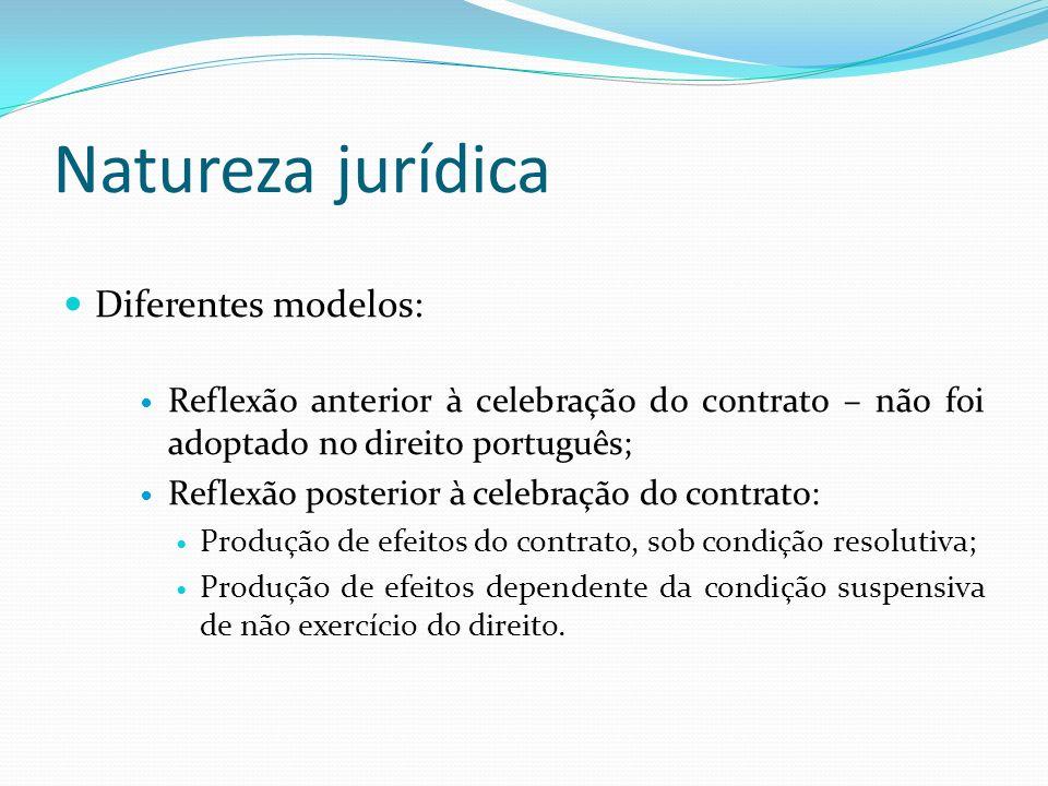 Natureza jurídica Diferentes modelos: