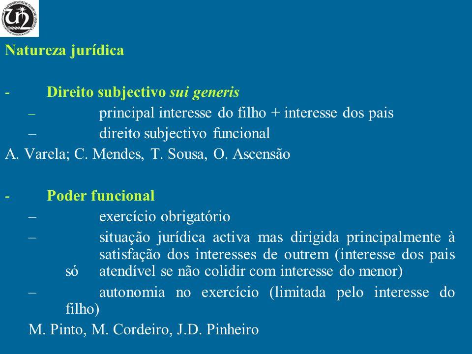 Direito subjectivo sui generis direito subjectivo funcional