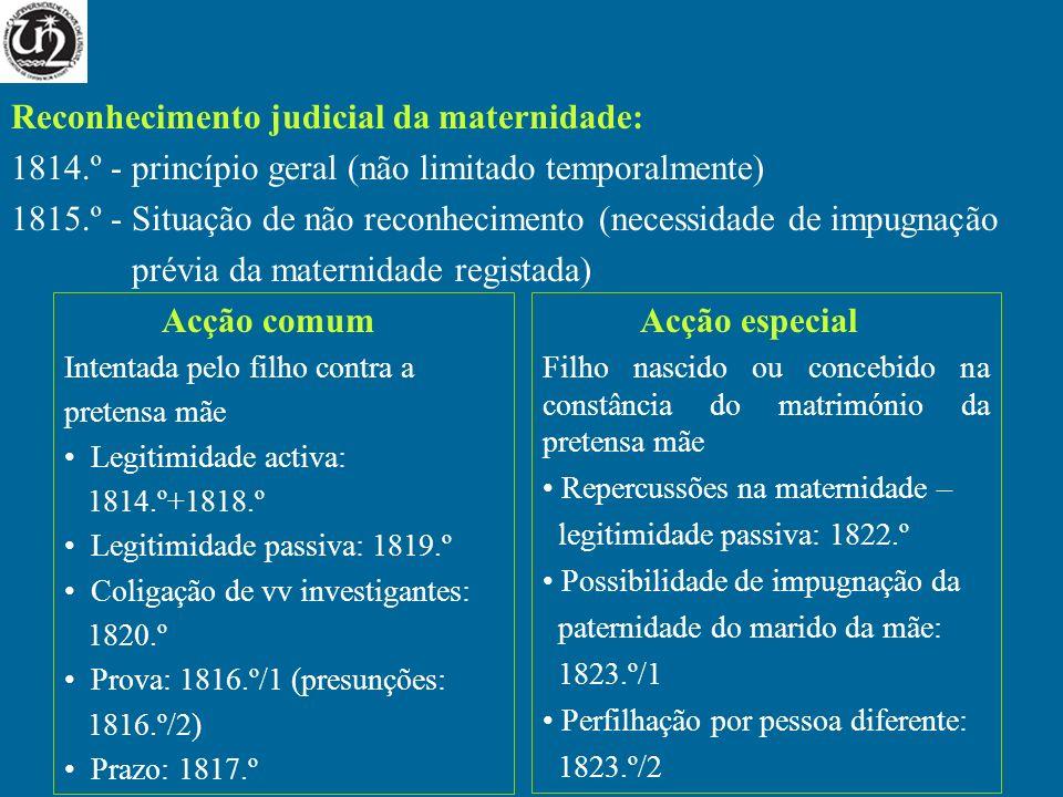 Reconhecimento judicial da maternidade: