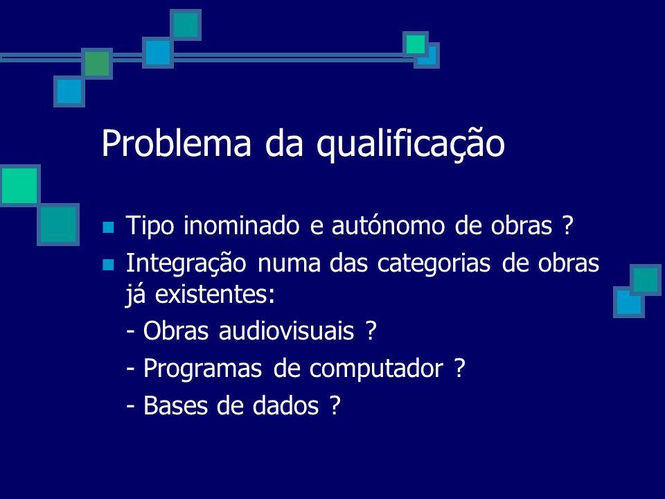 Problema da qualificação