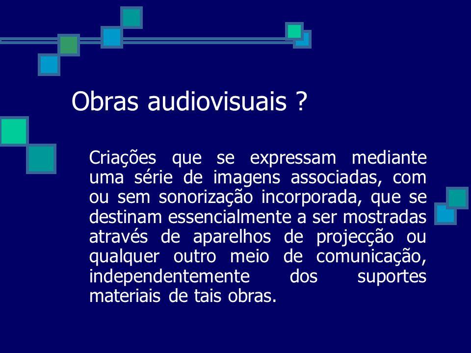 Obras audiovisuais